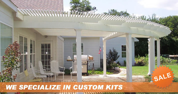 Do it yourself patio covers carport kits screen enclosures custom arbors solutioingenieria Image collections