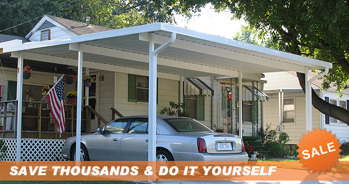 Do it yourself patio covers carport kits screen enclosures carport kits solutioingenieria Image collections